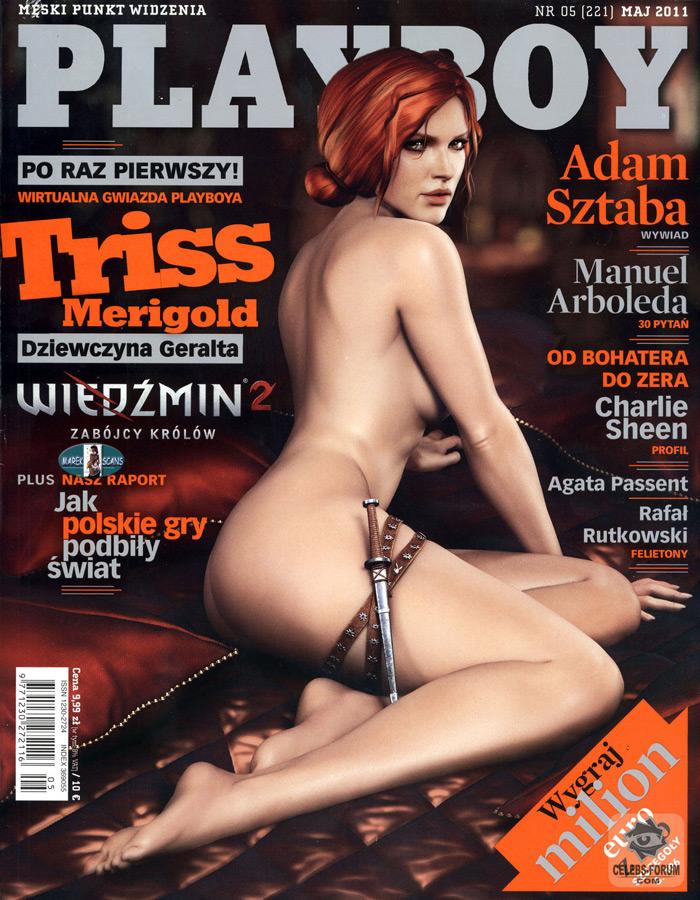 Трисс в польском журнале Playboy 18  Ведьмак  Хроники